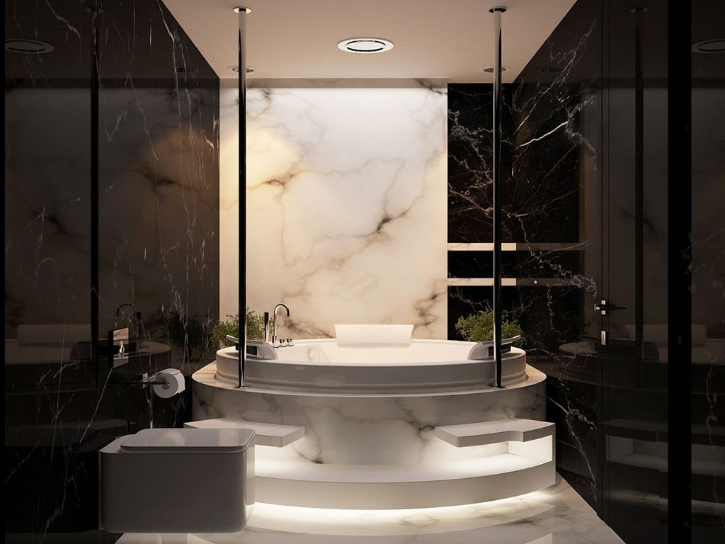 Marble Bathroom Pictures - You can take a cue from these wonderful ideas whenever you find yourself in need of creative inspirations on how a contemporary marble bathroom could look